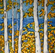 Christi dreese. autumn paintingweb