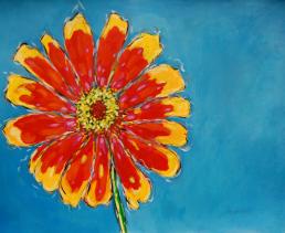 christi dreese. floral 37 x 48