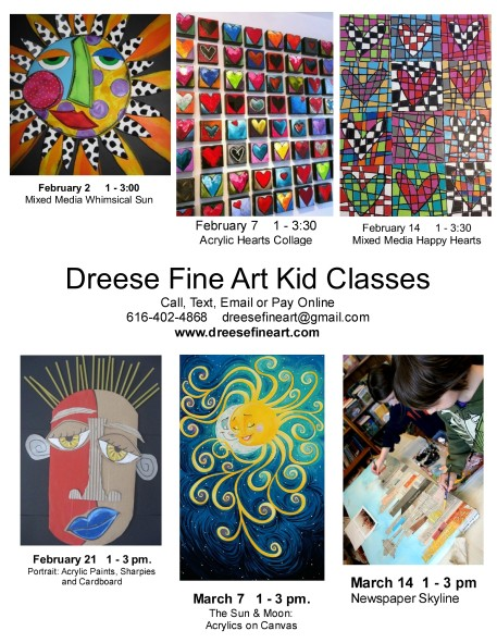 Kid Classes flyer