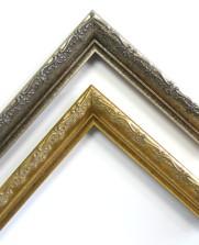 dreese picture frames ornate larson juhl silver gold 0002